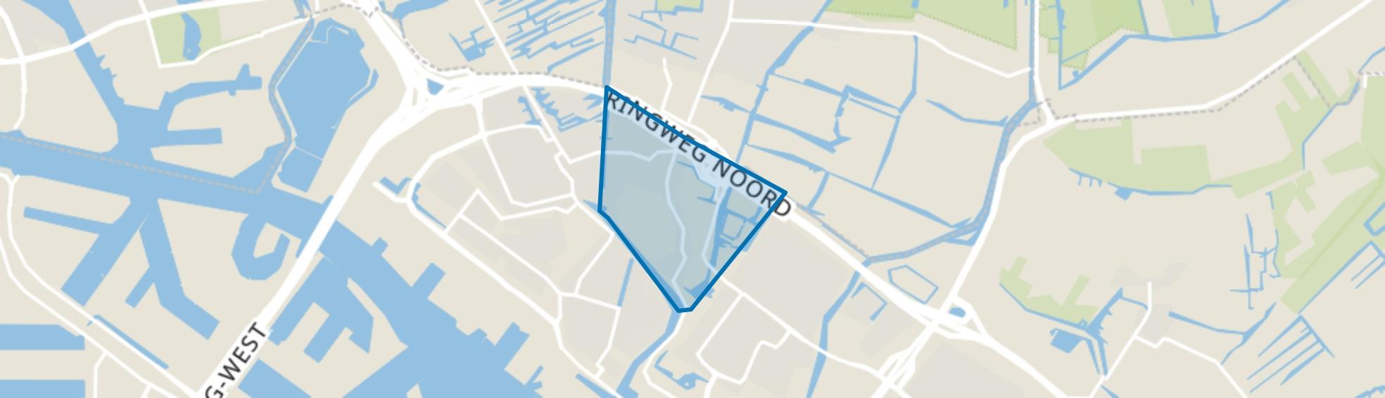 Kadoelen, Amsterdam map