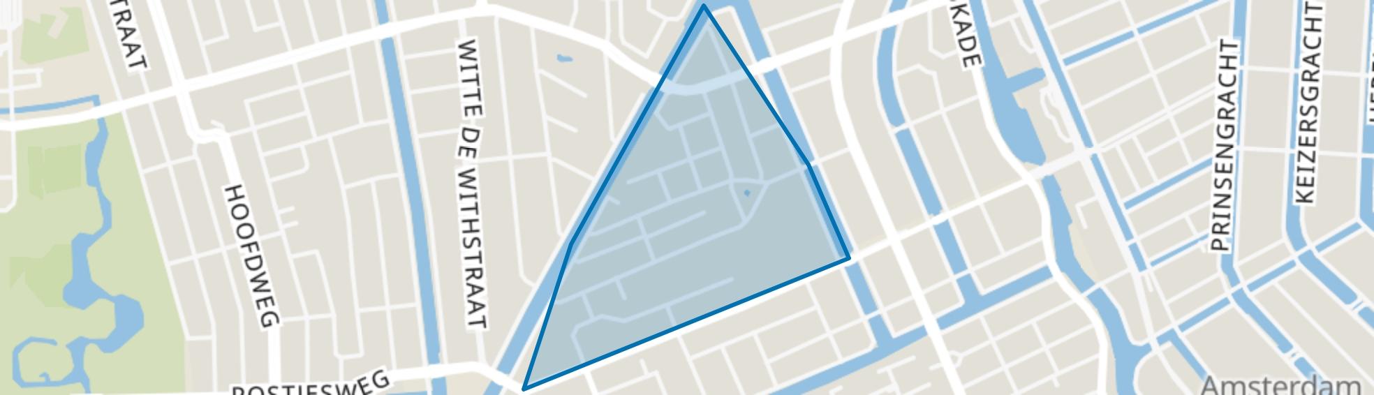 Kinkerbuurt, Amsterdam map