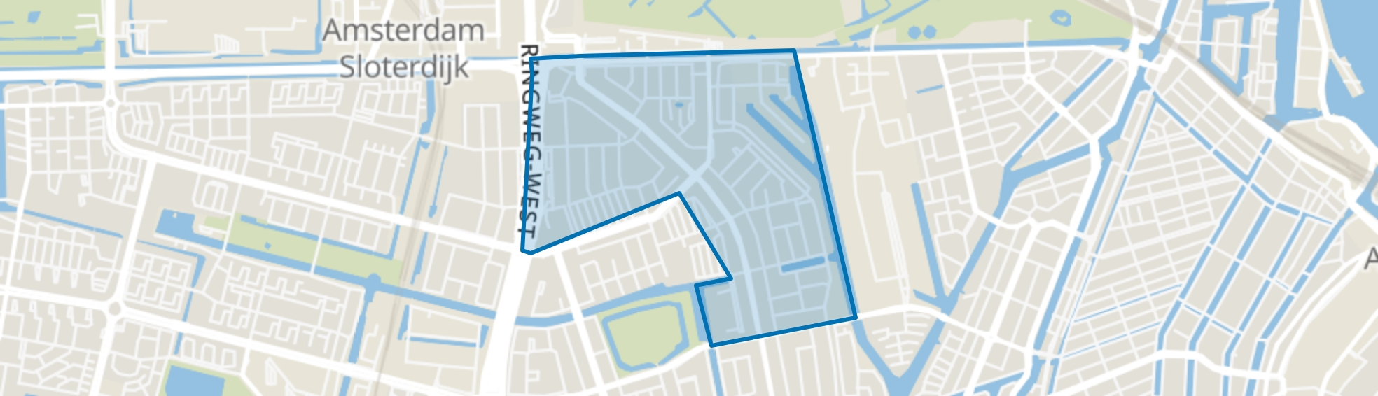 Landlust, Amsterdam map