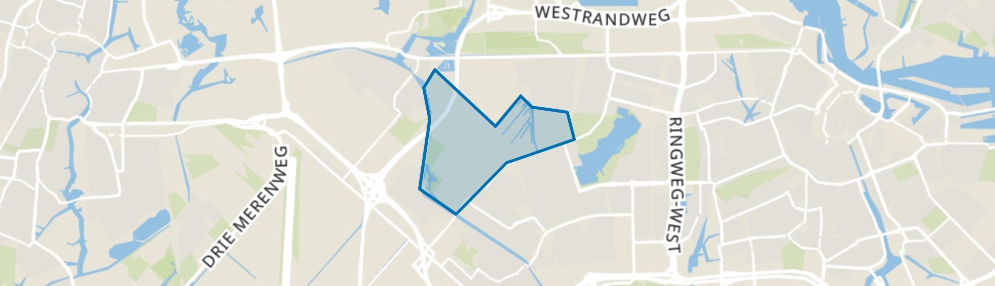 Lutkemeer/Ookmeer, Amsterdam map