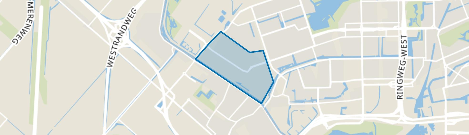 Middelveldsche Akerpolder, Amsterdam map