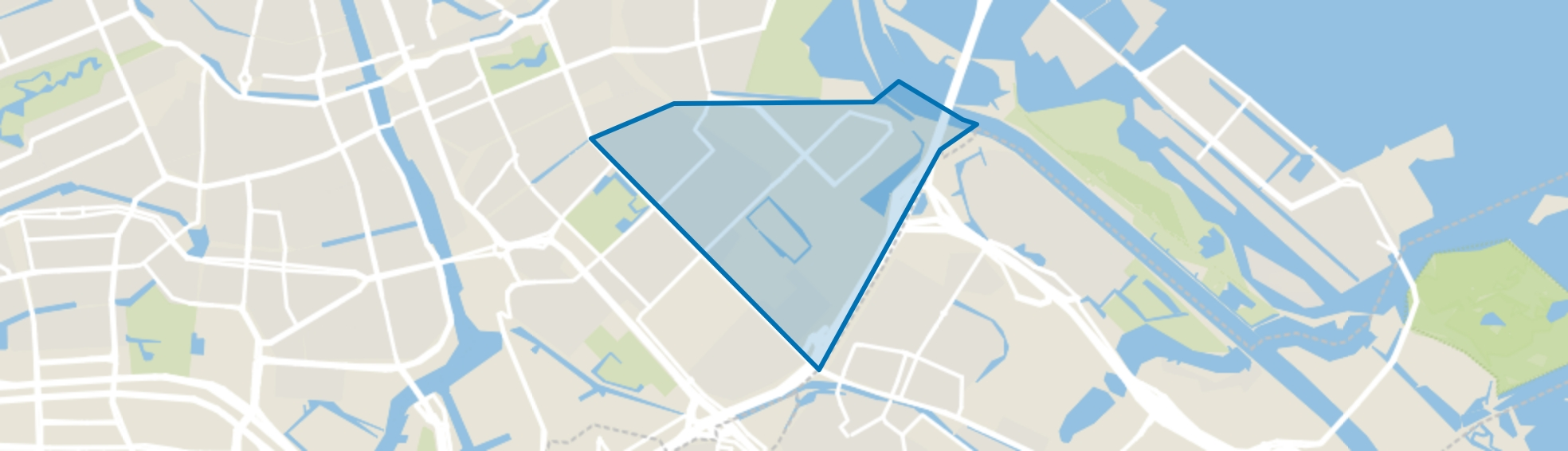 Middenmeer, Amsterdam map