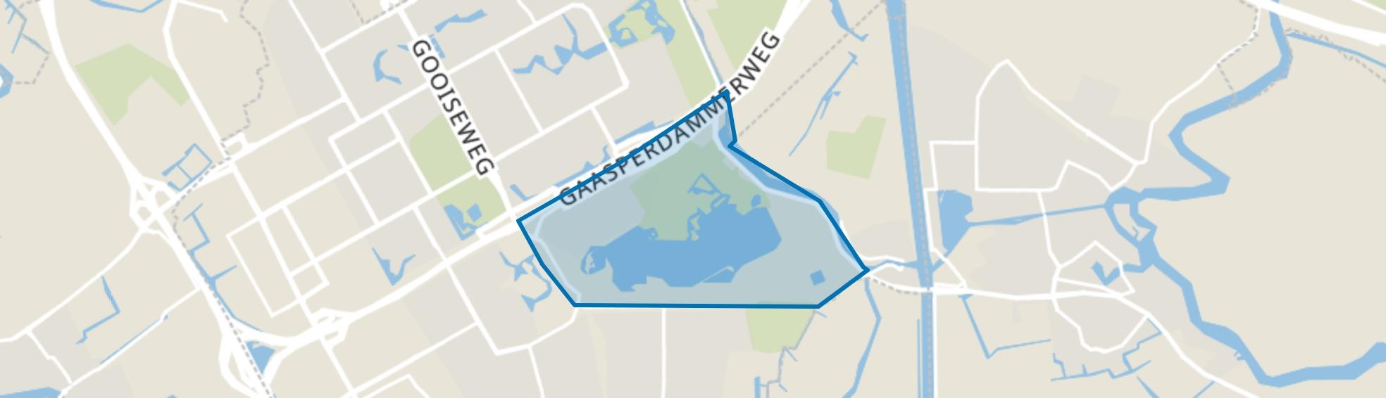 Nellestein, Amsterdam map