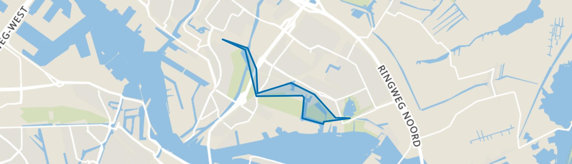 Nieuwendammerdijk/Buiksloterdijk, Amsterdam map