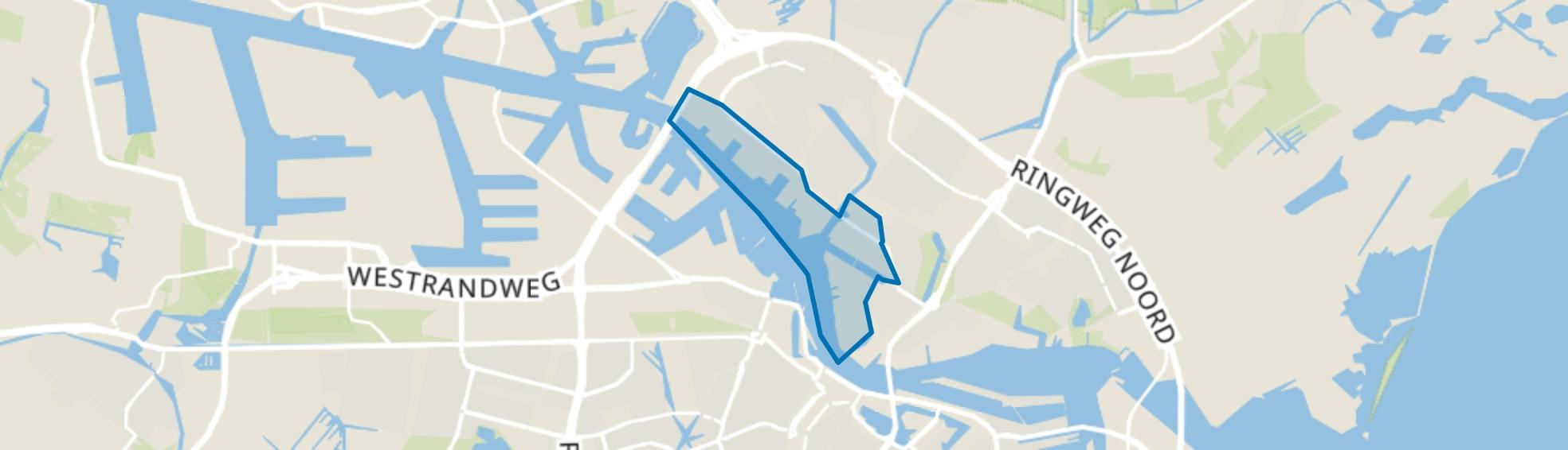 Noordelijke IJ-oevers West, Amsterdam map