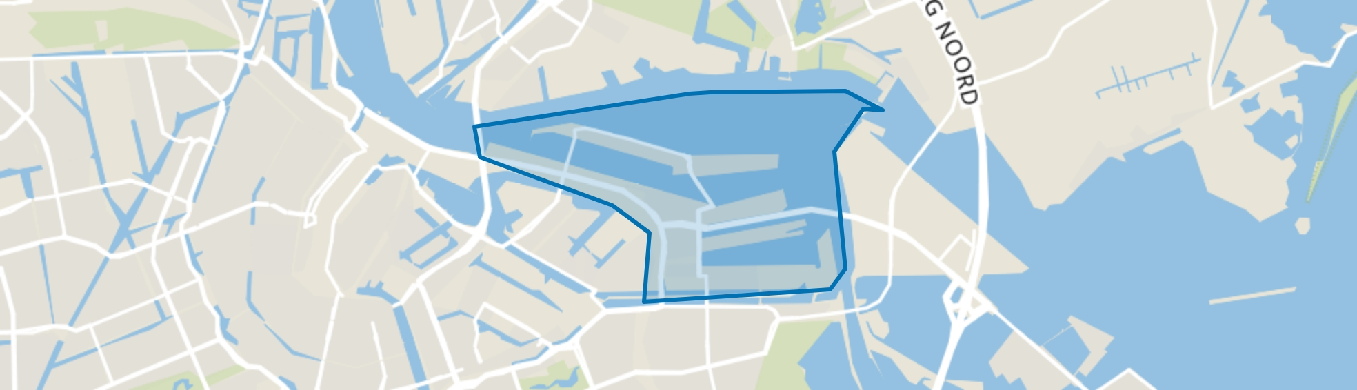 Oostelijk Havengebied, Amsterdam map