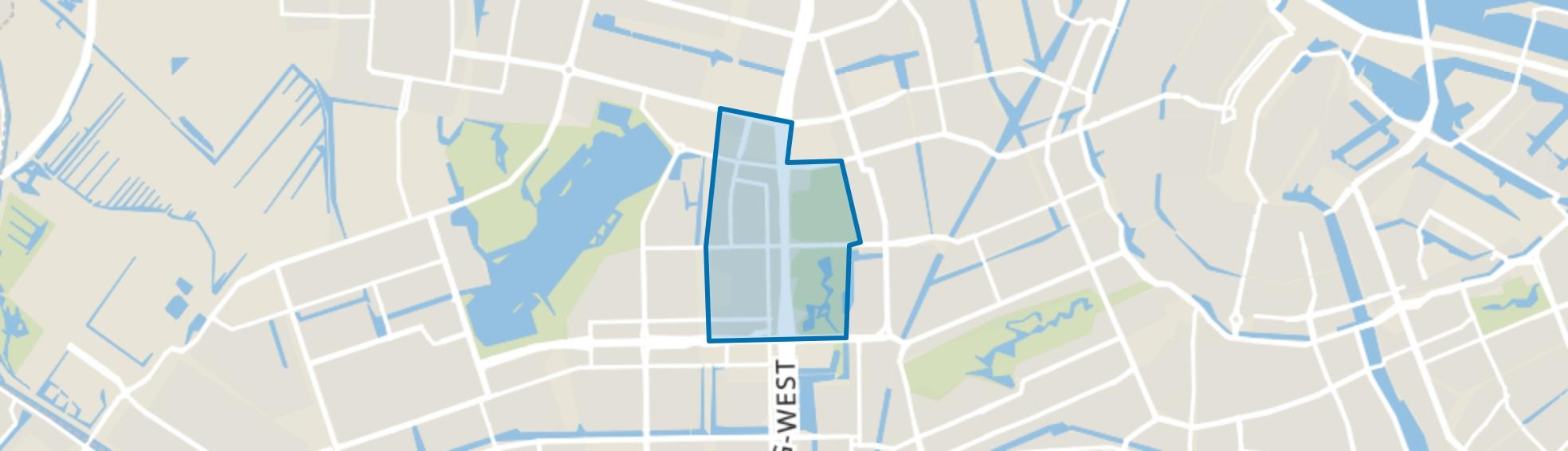 Overtoomse Veld, Amsterdam map