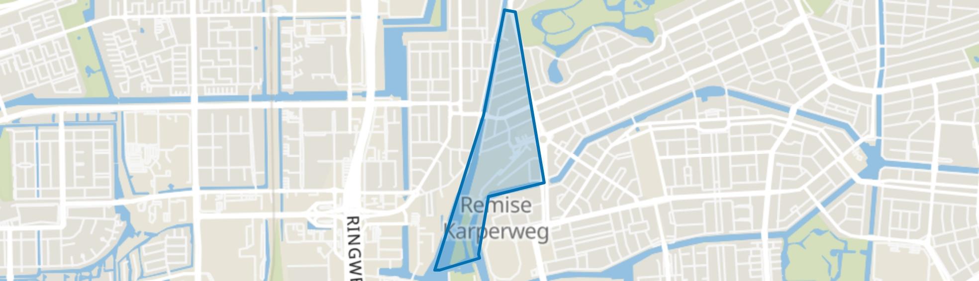 Schinkelbuurt, Amsterdam map