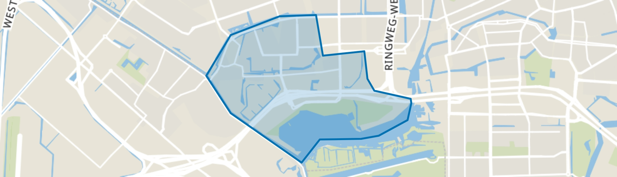 Sloter-/Riekerpolder, Amsterdam map