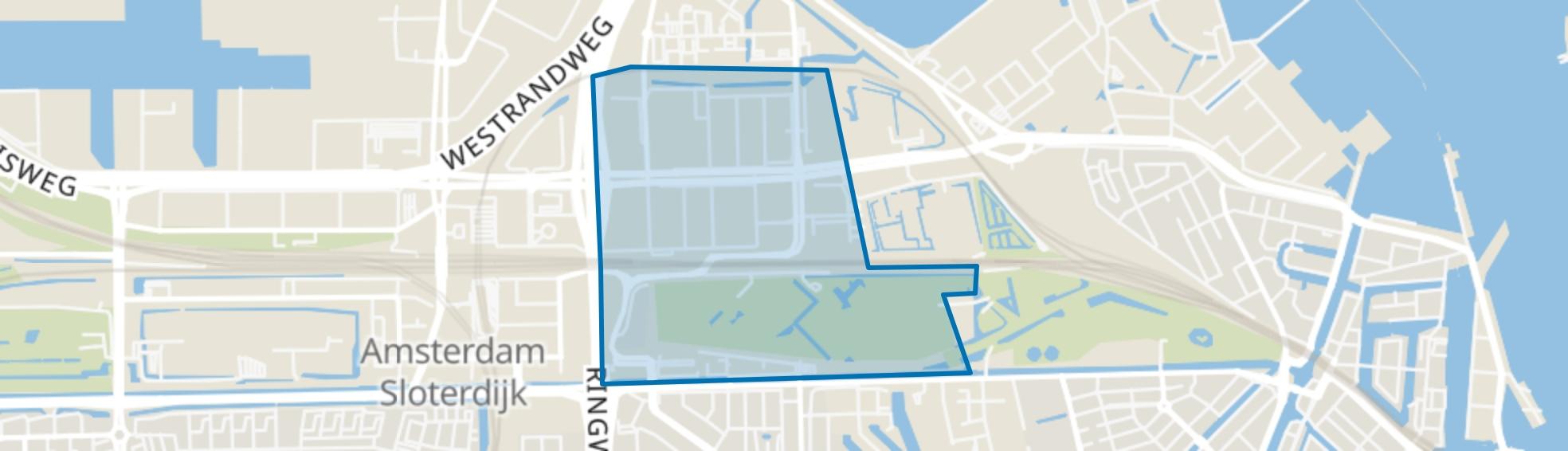 Sloterdijk, Amsterdam map