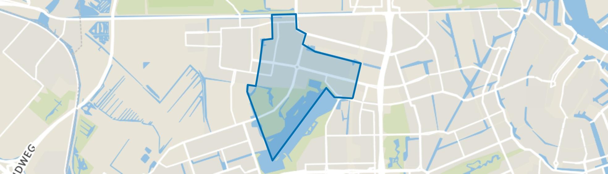 Slotermeer-Zuidwest, Amsterdam map