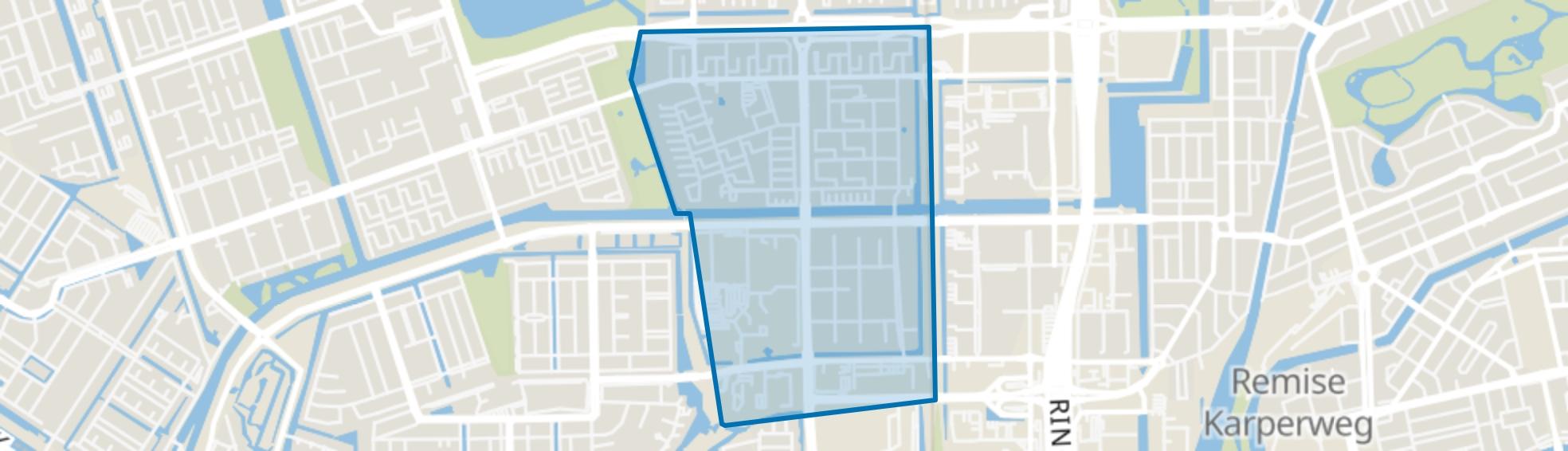 Slotervaart Zuid, Amsterdam map