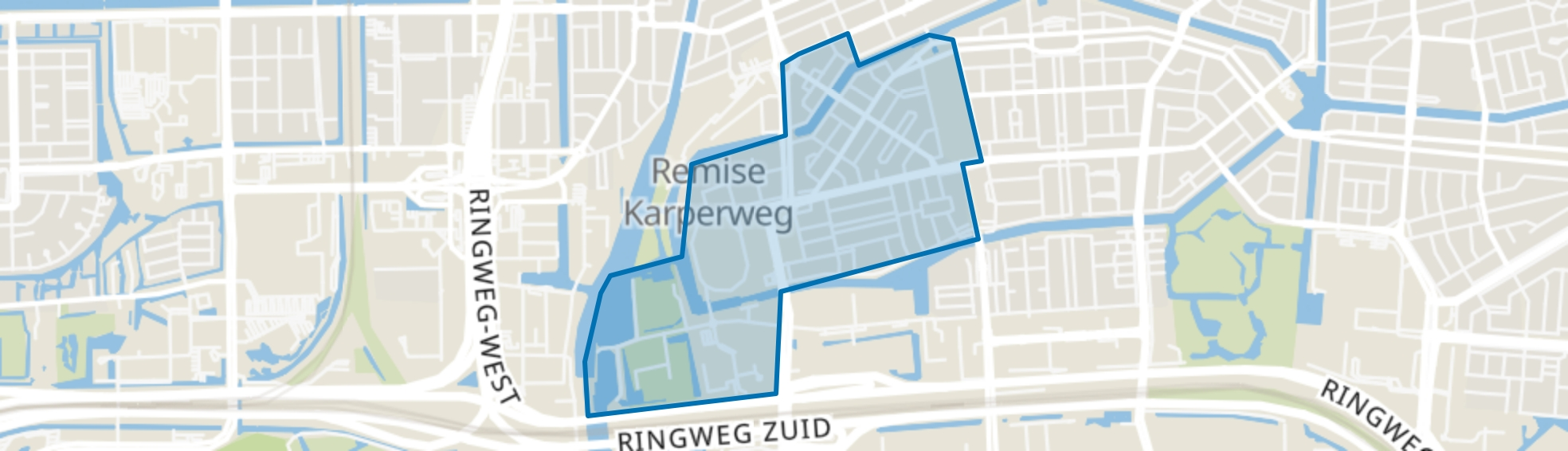 Stadionbuurt, Amsterdam map