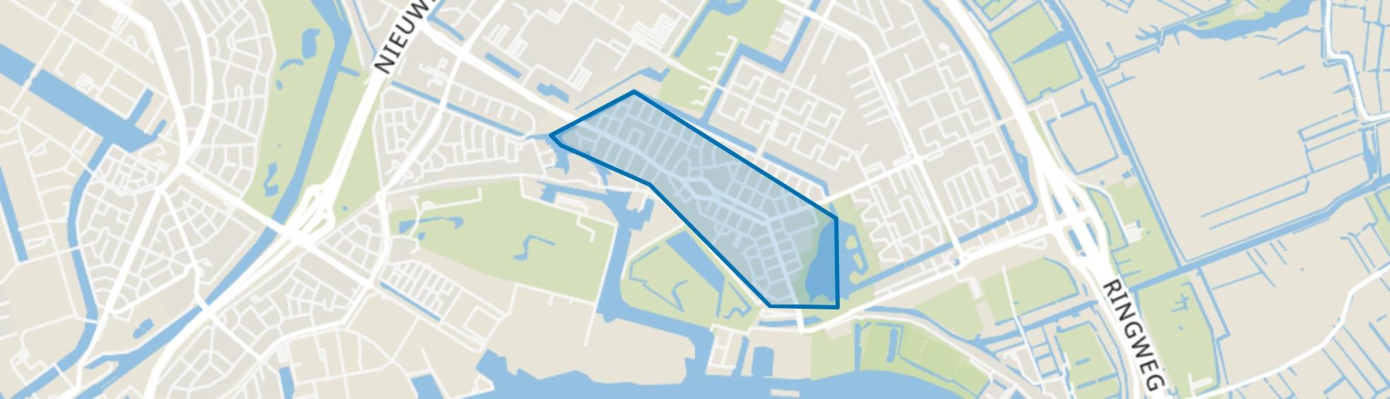 Tuindorp Nieuwendam, Amsterdam map