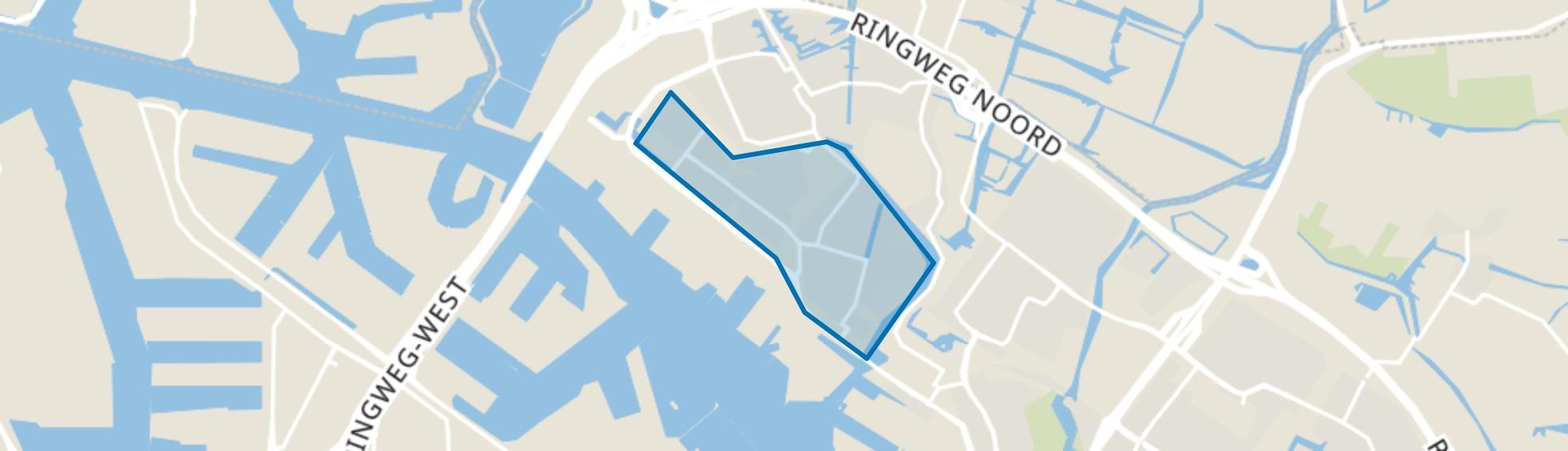 Tuindorp Oostzaan, Amsterdam map
