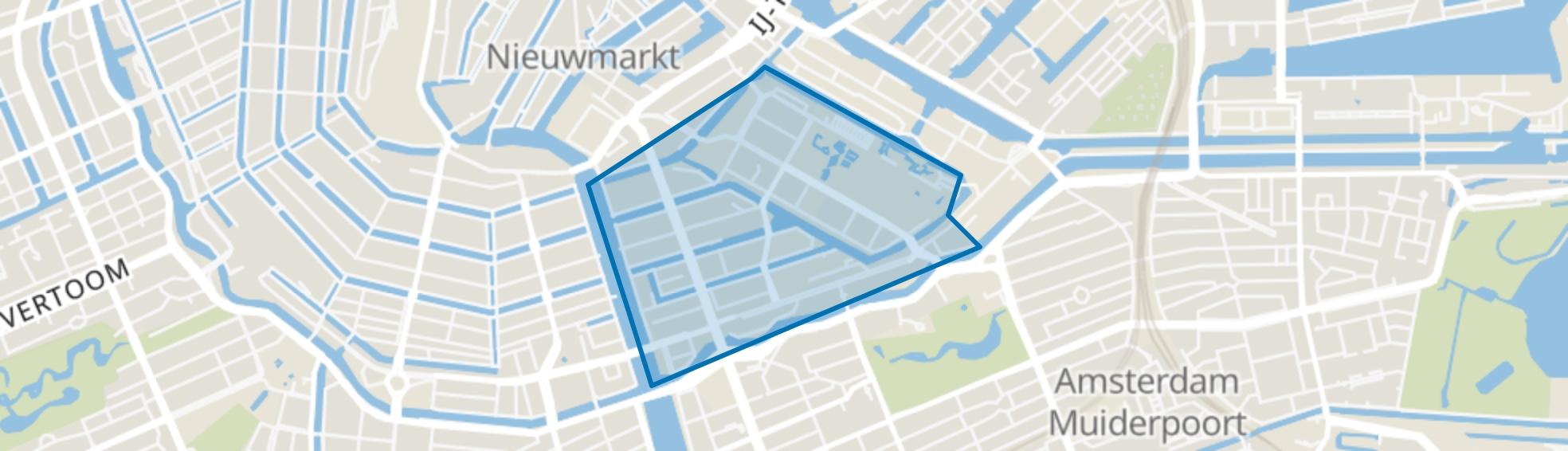Weesperbuurt/Plantage, Amsterdam map