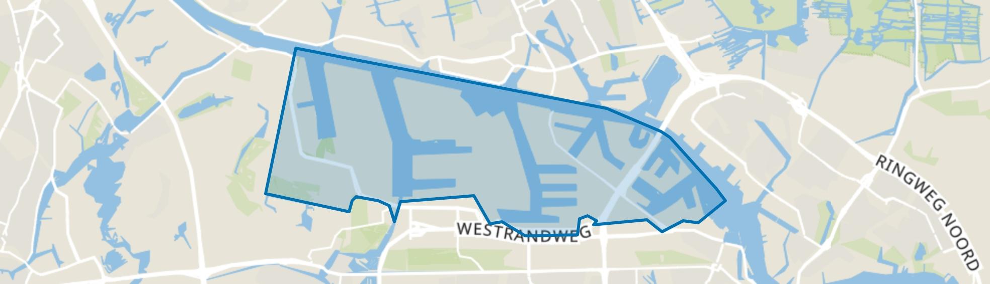 Westelijk Havengebied, Amsterdam map