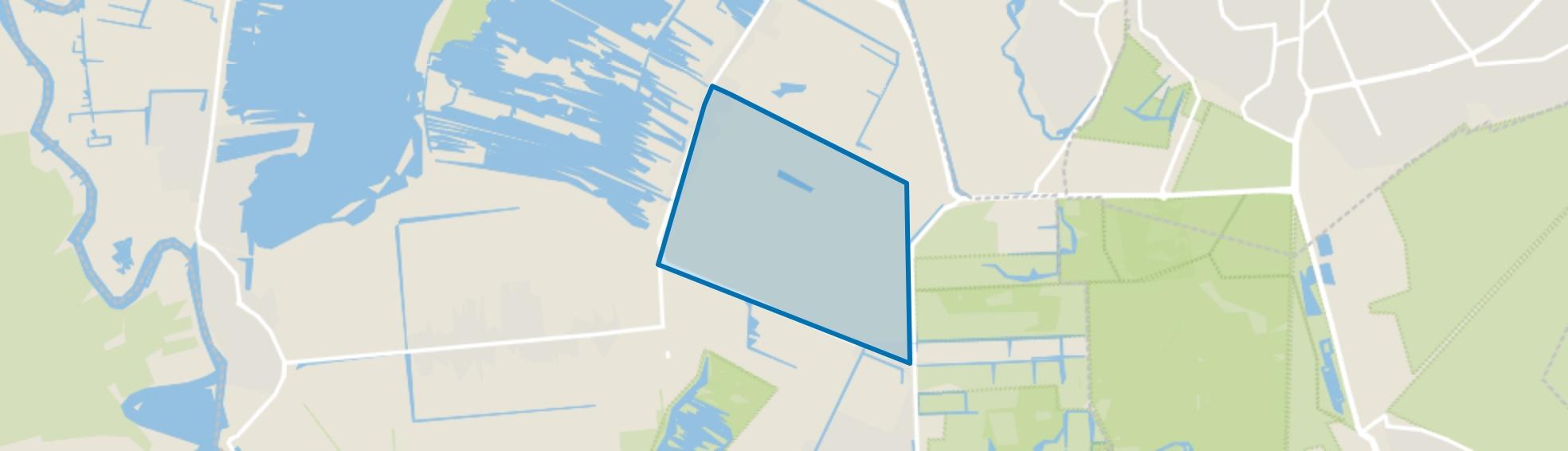 Ankeveense Rade, Ankeveen map