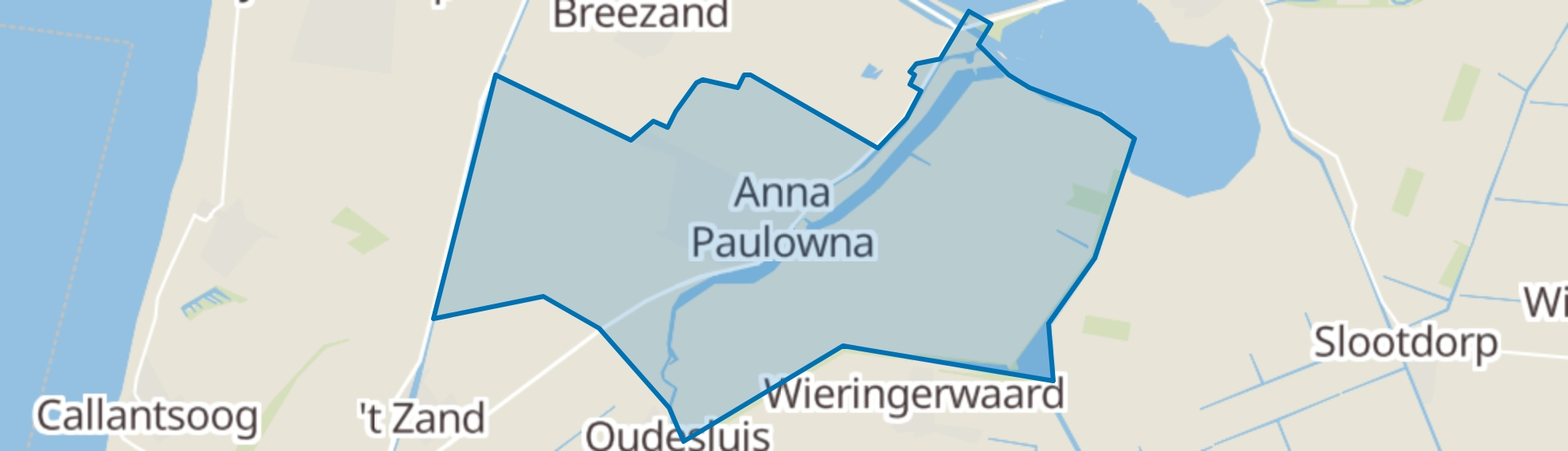 Anna Paulowna map