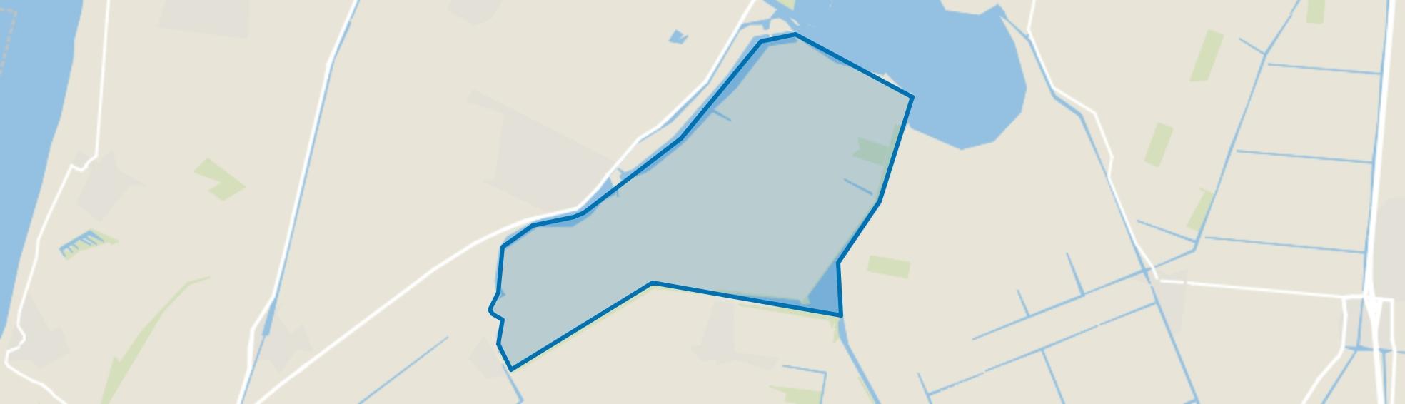 Oostpolder, Anna Paulowna map