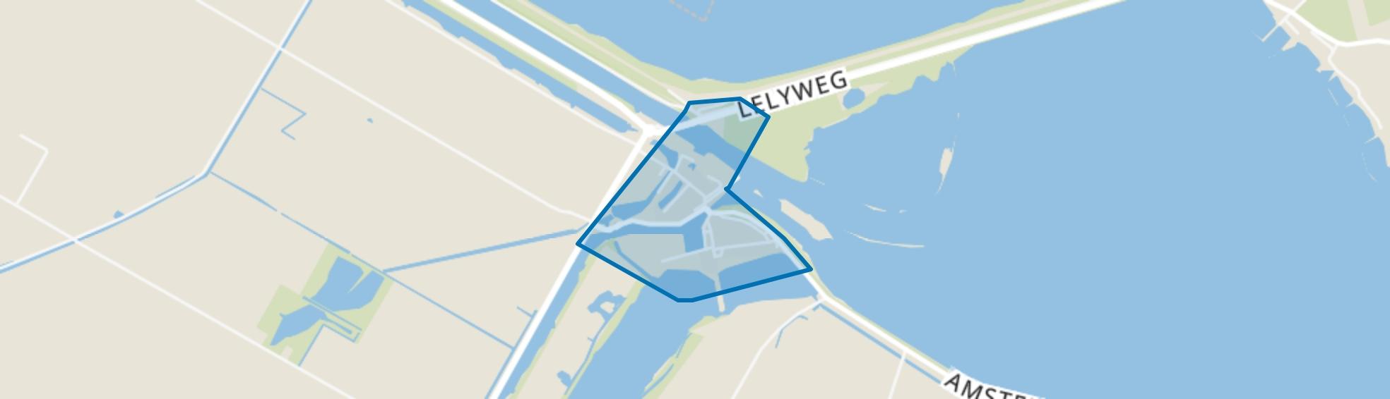 Van Ewijcksluis, Anna Paulowna map