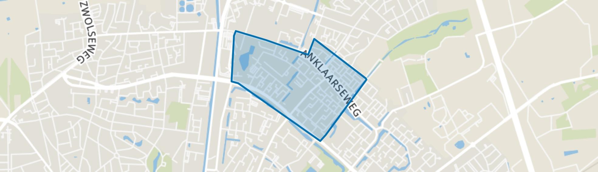 Anklaar, Apeldoorn map