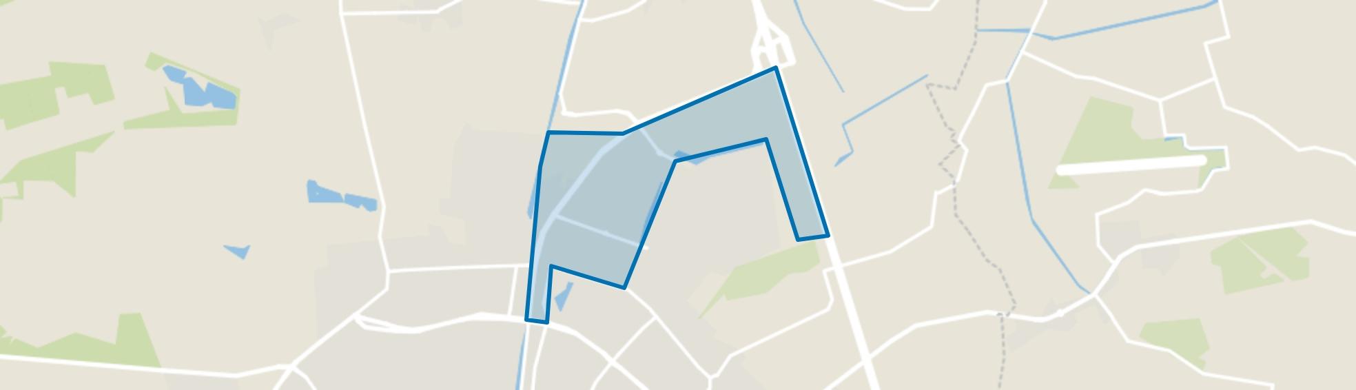 Bedrijvenpark Apeldoorn Noord, Apeldoorn map