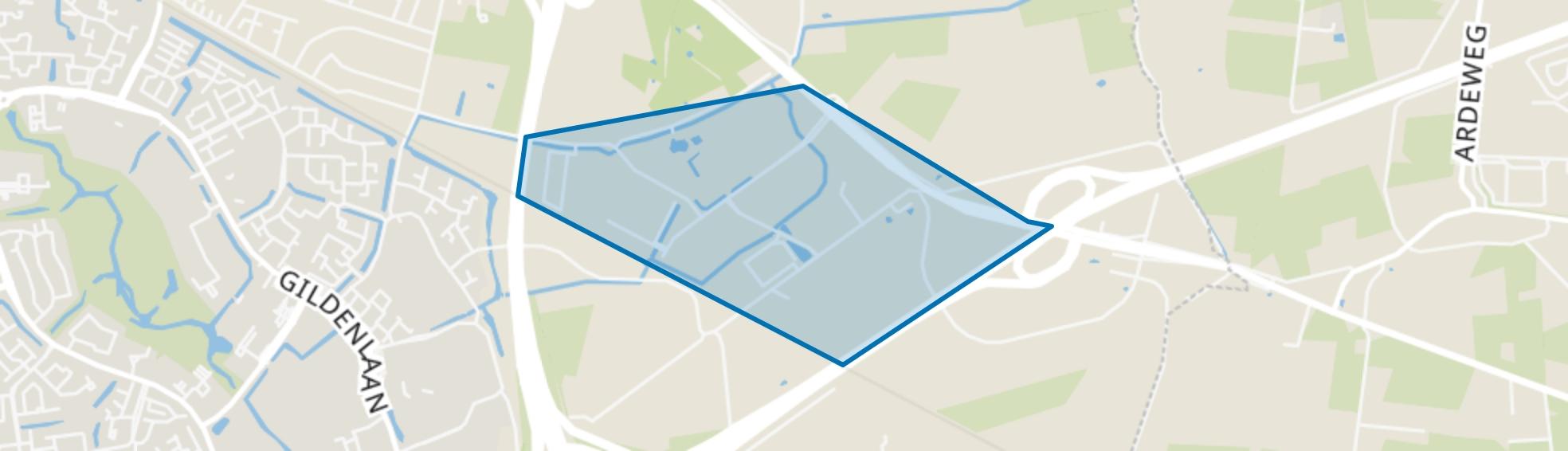 Bedrijvenpark Ecofactorij, Apeldoorn map
