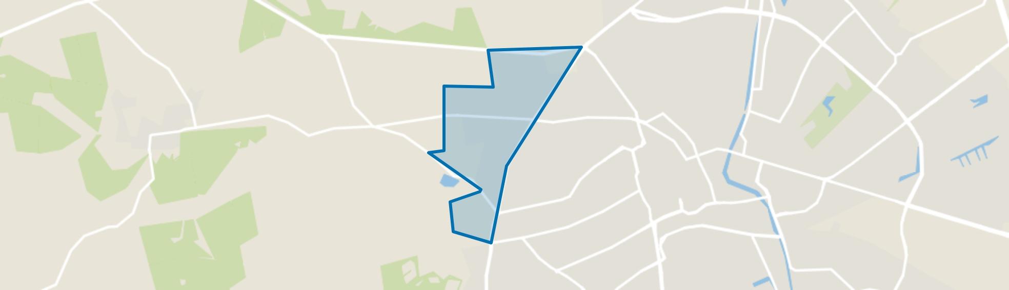 Berg en Bos, Apeldoorn map