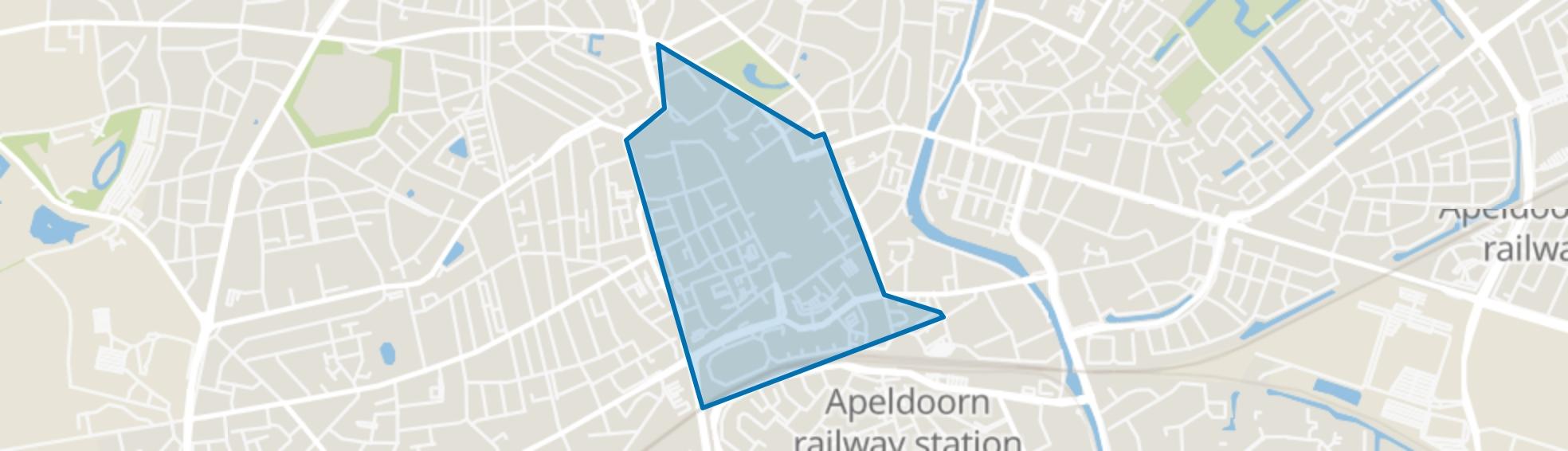 Binnenstad, Apeldoorn map