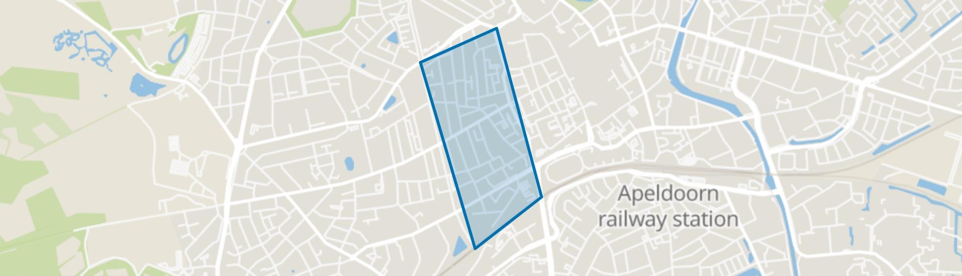 Brinkhorst, Apeldoorn map