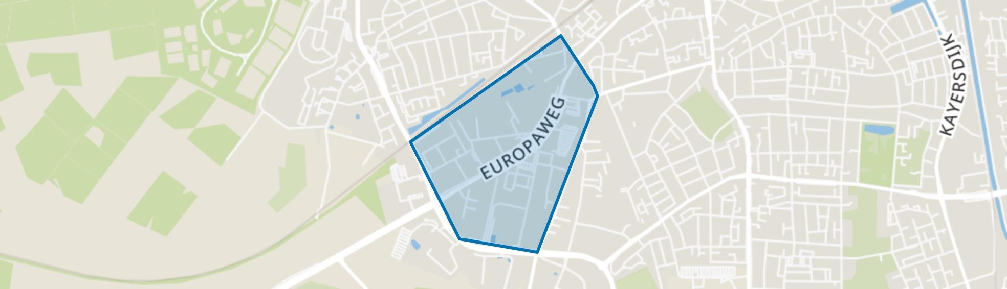 Brouwersmolen-Noord, Apeldoorn map