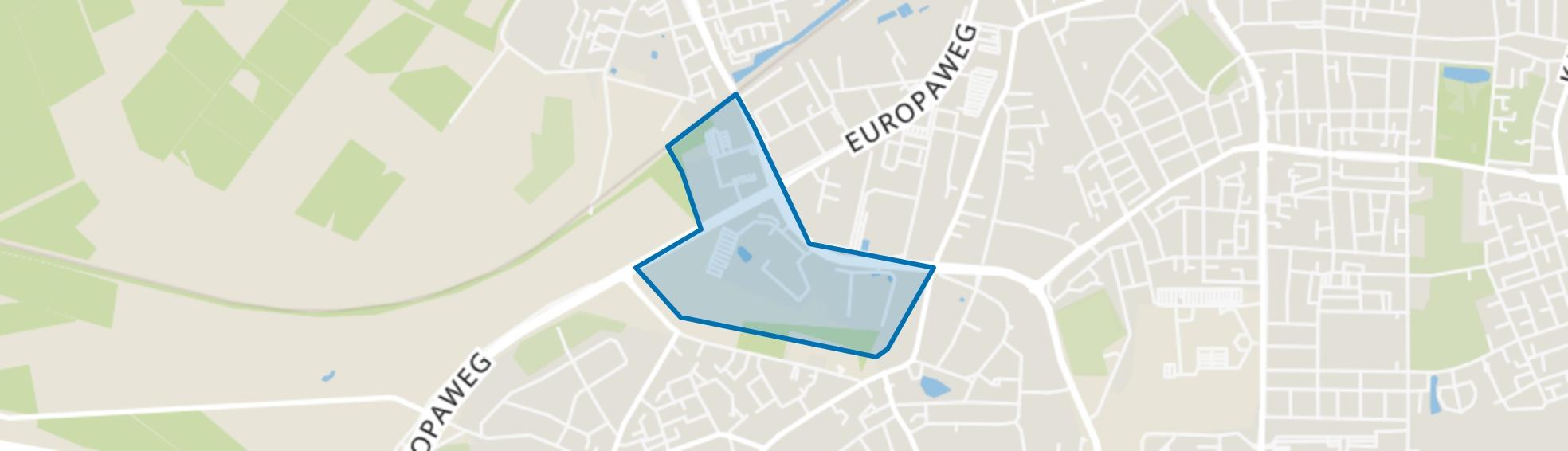 Brouwersmolen-Zuid, Apeldoorn map