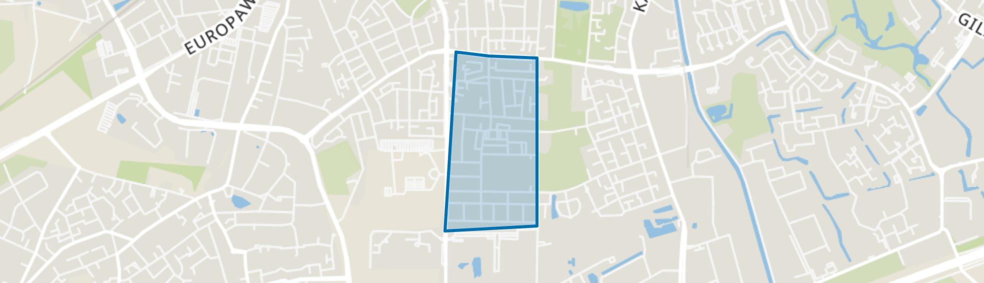 Componistenkwartier, Apeldoorn map
