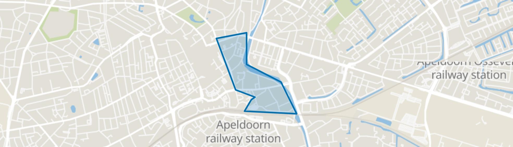 De Haven, Apeldoorn map