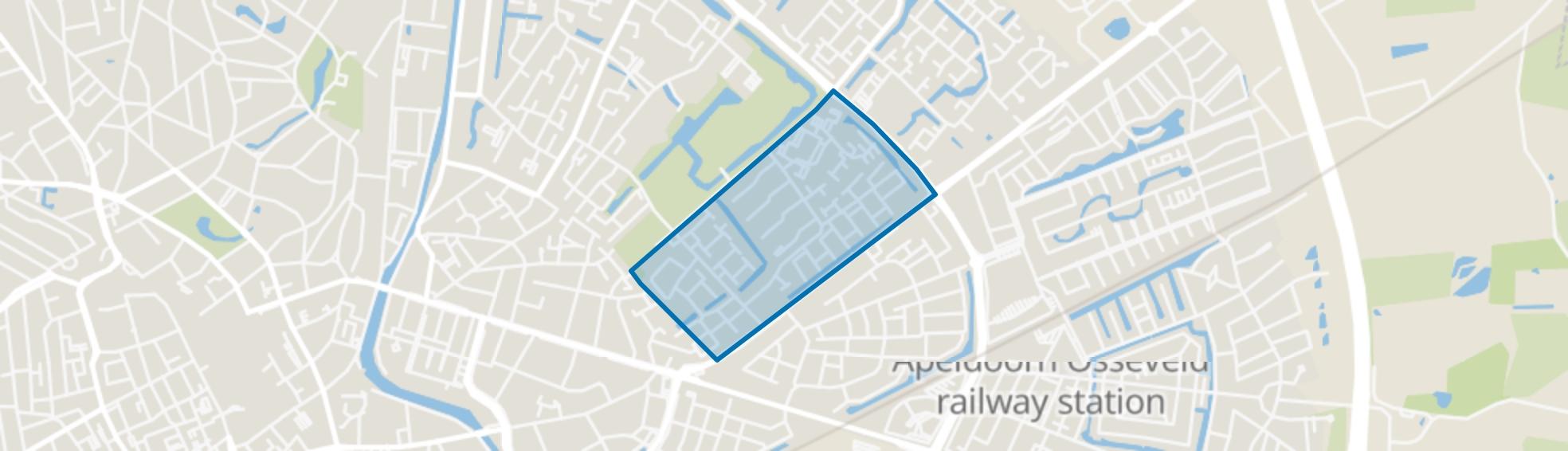 De Mheen, Apeldoorn map