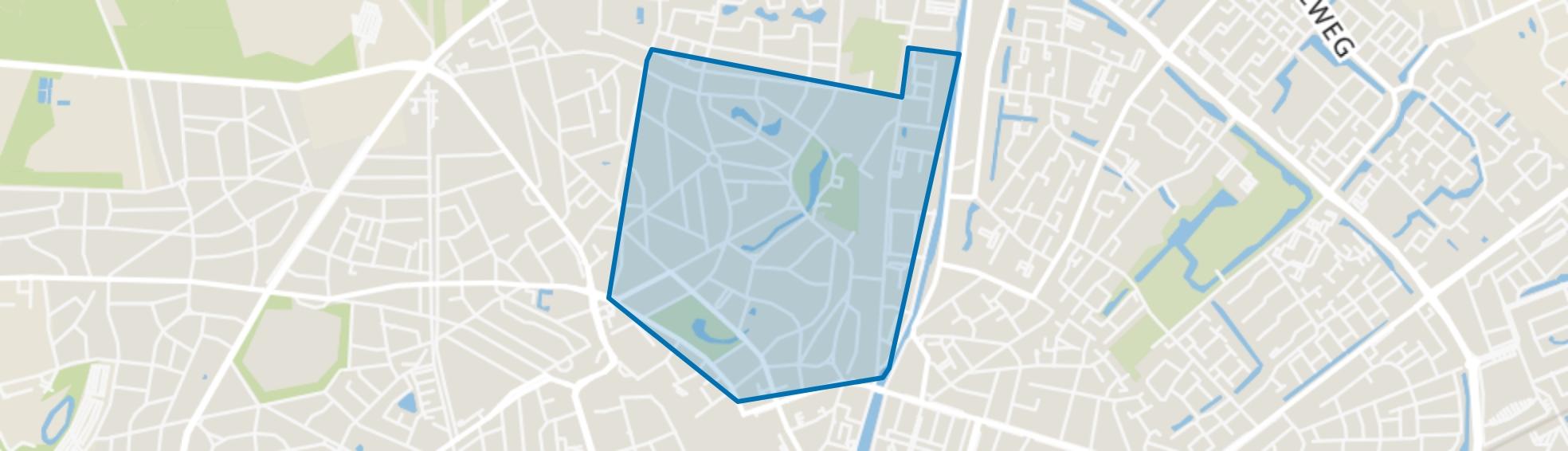 De Parken, Apeldoorn map
