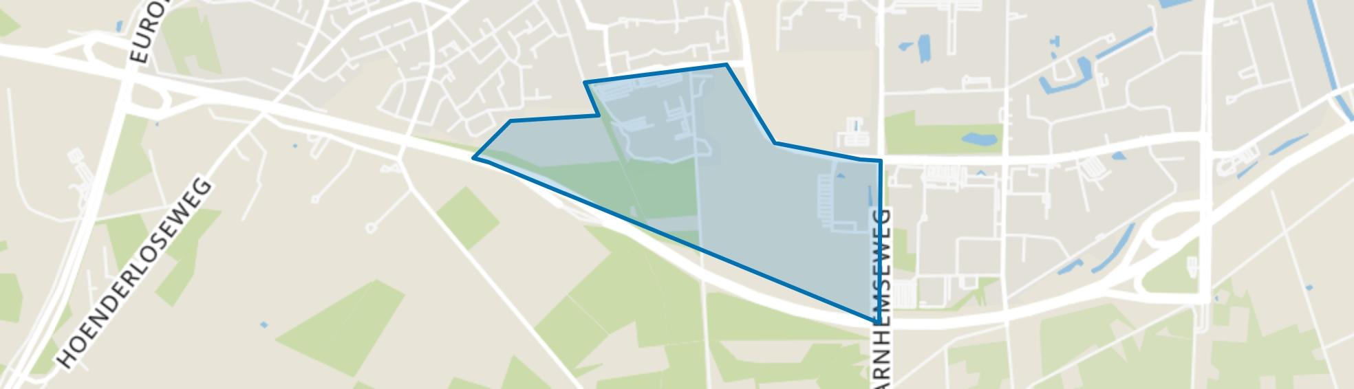 Dennenheuvel, Apeldoorn map