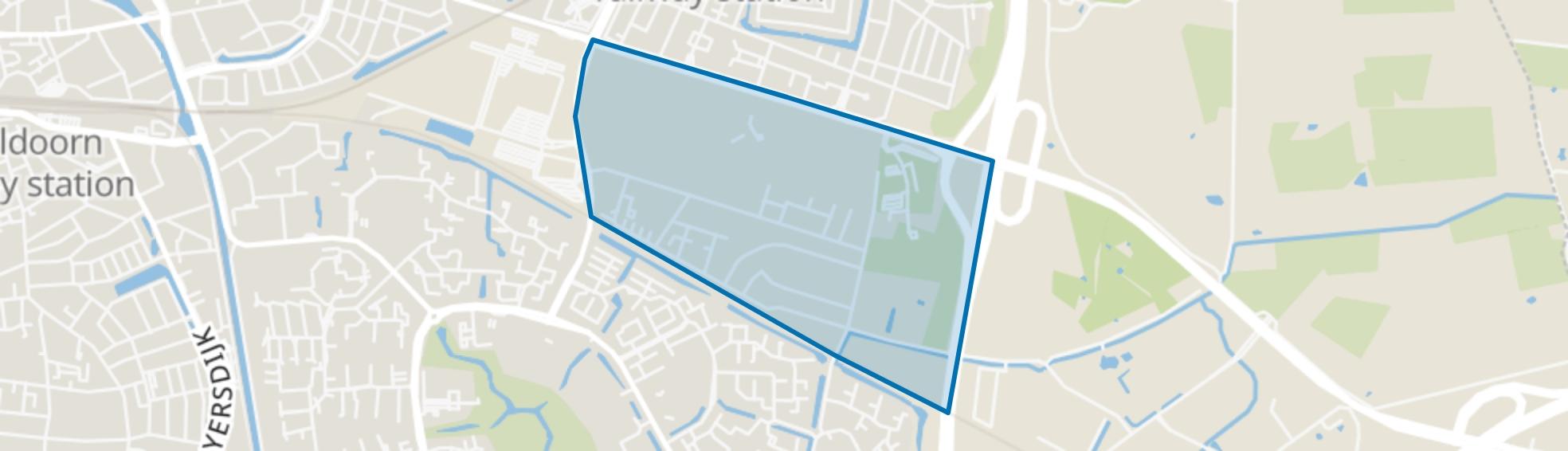 Groot Zonnehoeve, Apeldoorn map