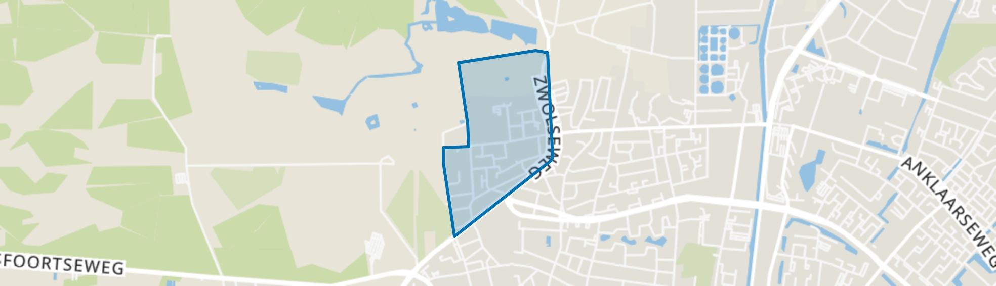 Het Loo, Apeldoorn map