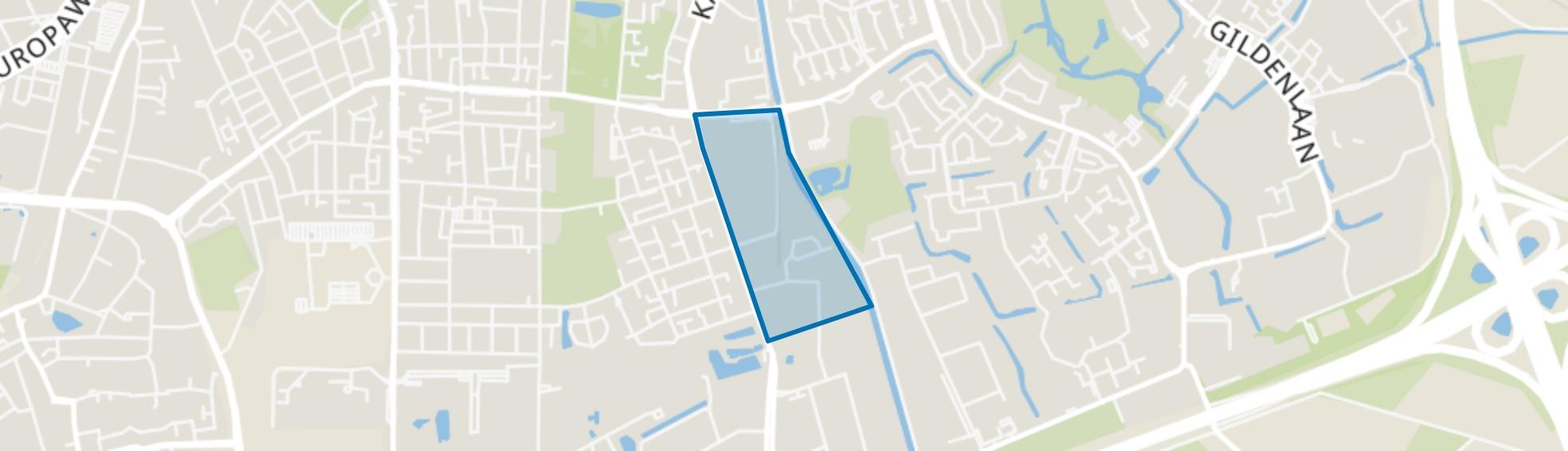 Kayersmolen-Midden, Apeldoorn map