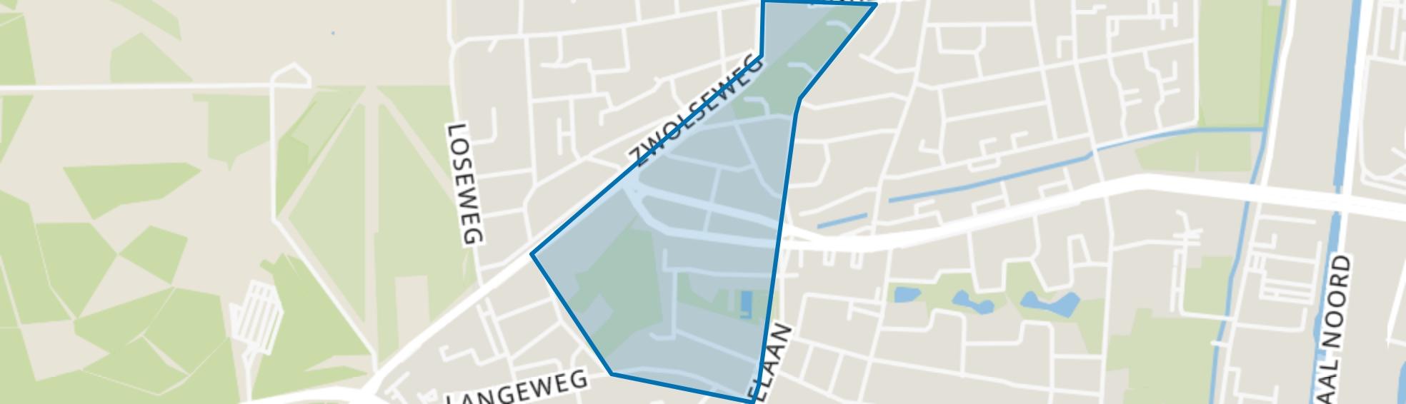 Kerschoten-West, Apeldoorn map