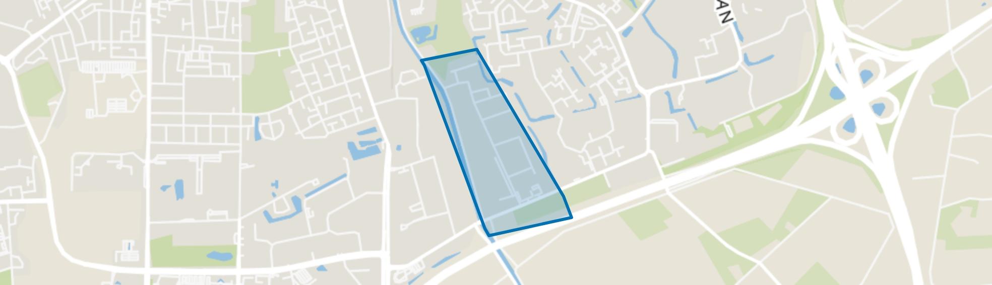 Kuipersveld, Apeldoorn map