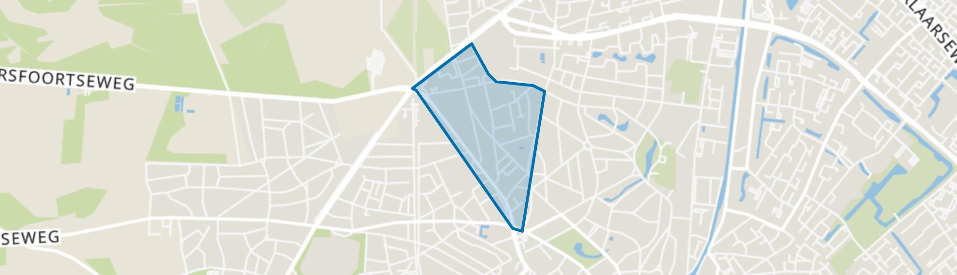 Loolaan-Noord, Apeldoorn map