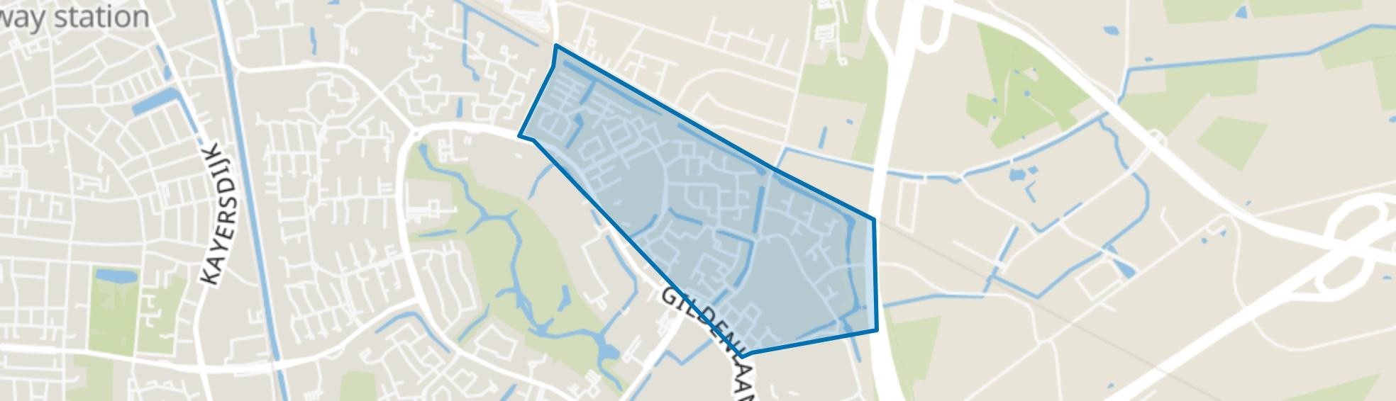 Matendonk, Apeldoorn map