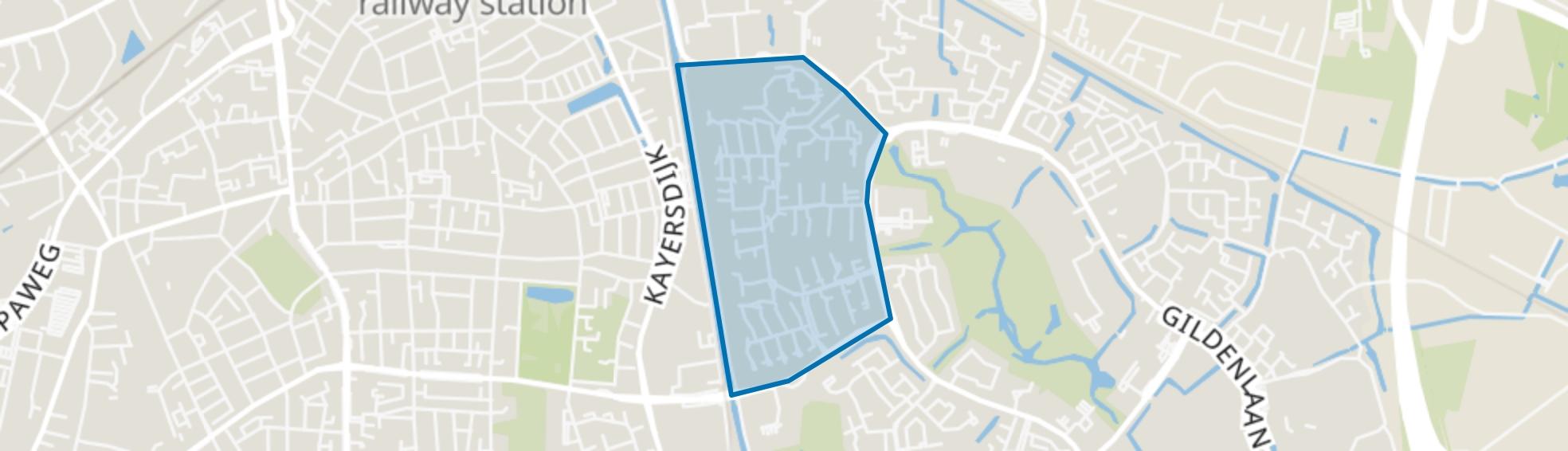 Matendreef, Apeldoorn map