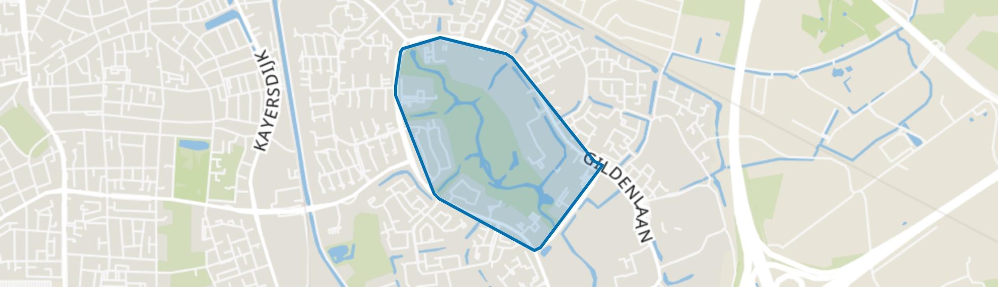 Matengaarde, Apeldoorn map