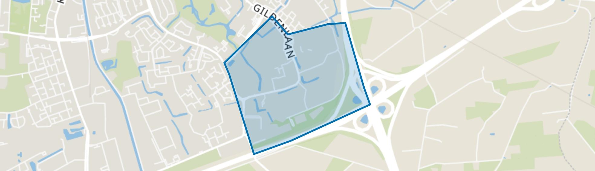 Matenhoeve, Apeldoorn map