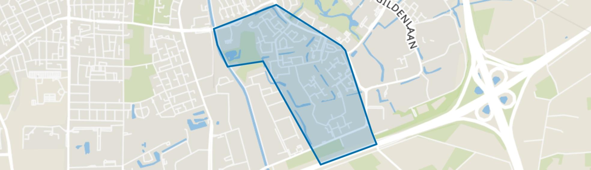 Matenveld, Apeldoorn map
