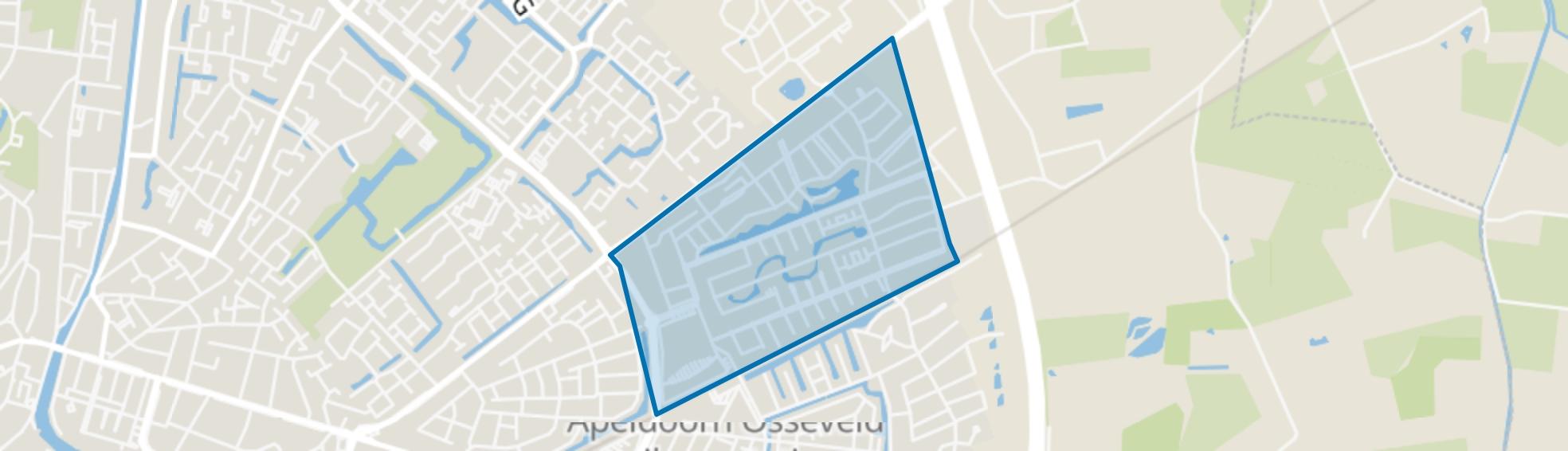 Osseveld-Oost, Apeldoorn map